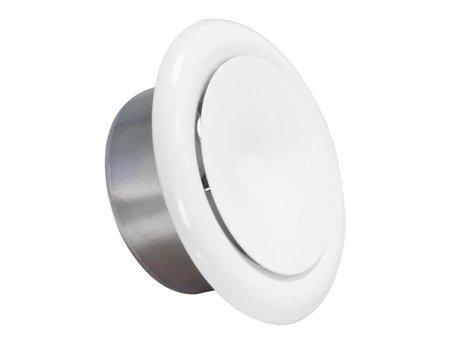 Anemostat metalowy nawiewny Ø150