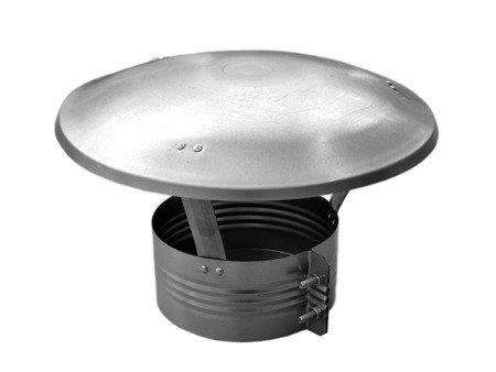 Daszek wywietrznikowy ocynkowany Ø160
